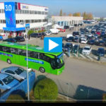 Video Cartoline Città dell'Autobus 3.0 dal drone