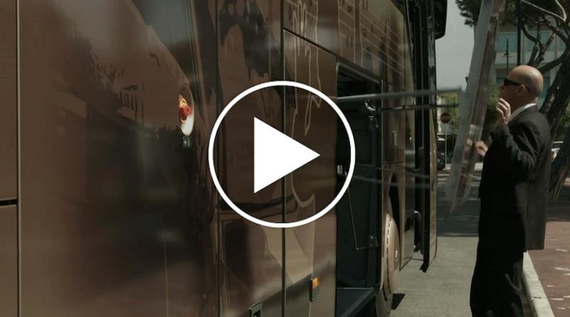 Il video sul sito di Fratelli Verona con Riccardo Verona alla guida di un Setra 516 HDH