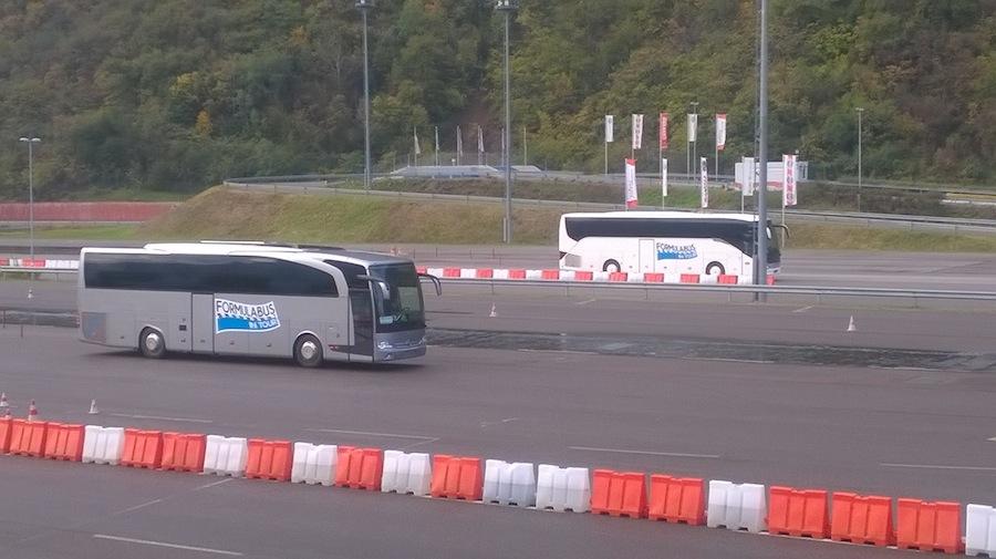 FormulaBus Bolzano prove in pista