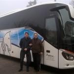 Consegna nuovo Setra a Pattaro