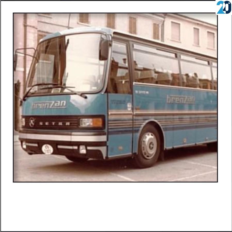 Setra S 215 H del 1984 della ditta Brenzan
