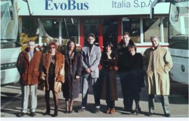 Una foto d'epoca dall'album dei ricordi di Tullia.
