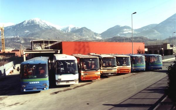 La flotta Sabba negli anni '90
