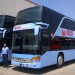 Consegna Setra S 431 DT a Segesta Autolinee
