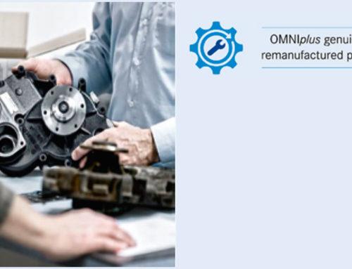 Ricambi ricondizionati OMNIplus: alternativa efficiente e tecnologica