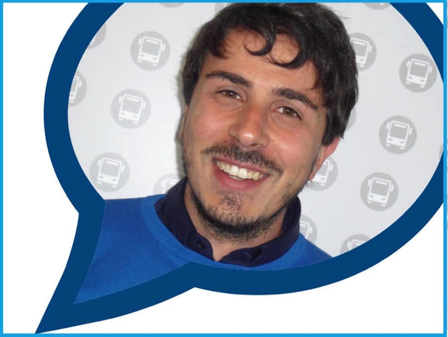 Giovanni Zago EvoBus #iProssimi20Anni