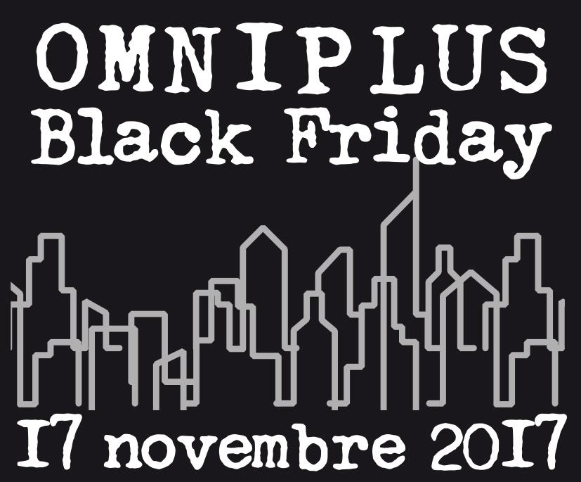 Logo OMNIplus Black Friday