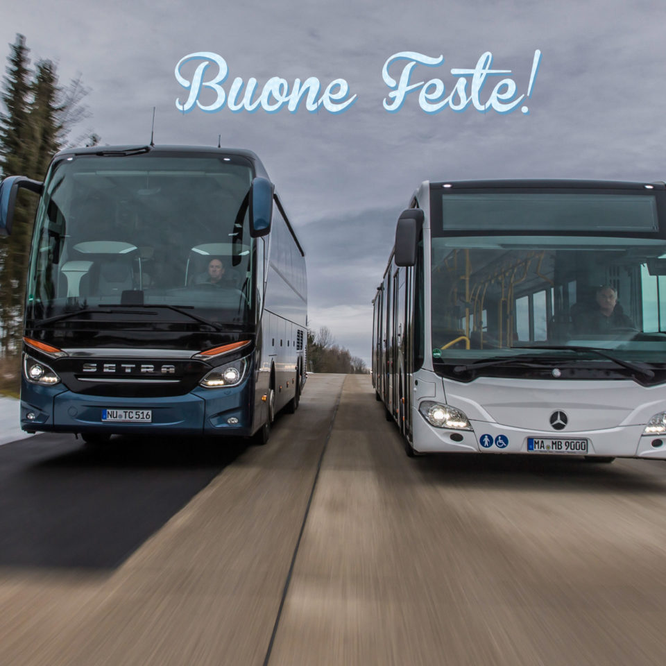 Natale 2017 Setra e Mercedes-Benz