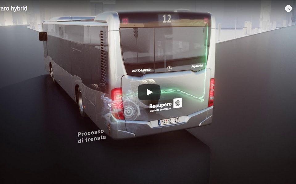 Citaro Hybrid video