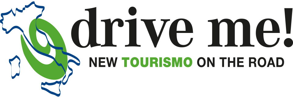 Logo roadshow Drive-me New Tourismo On The Road