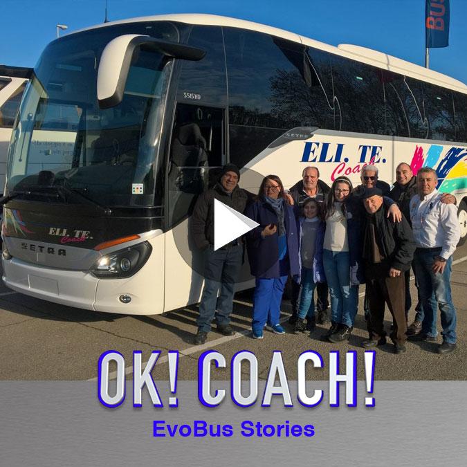 Consegna Setra 2017 Eli.Te Coach per Facebook Video consegna