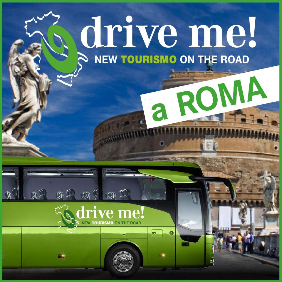 Drive me Tourismo Roadshow sesta tappa Roma
