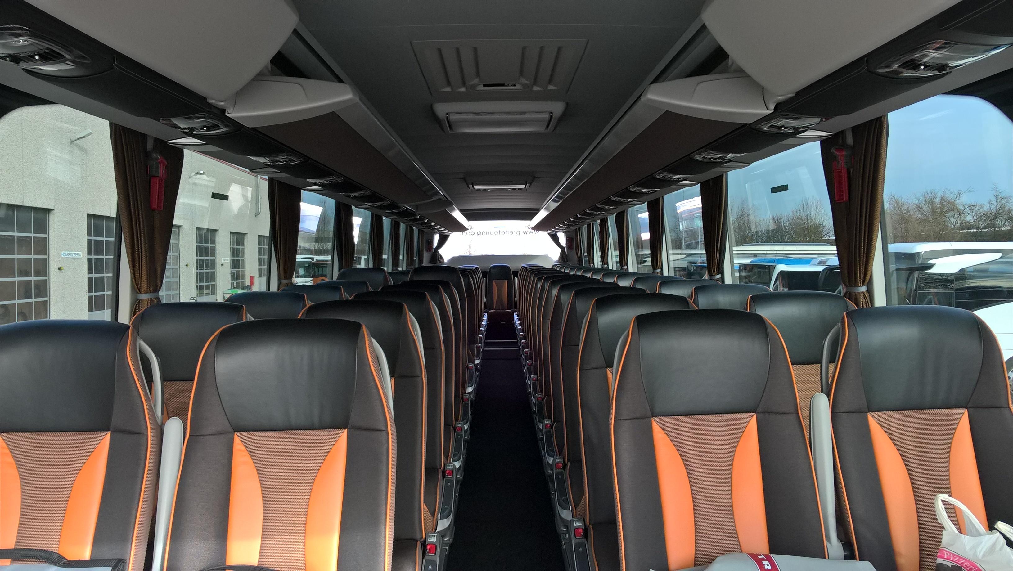 Interno bus Consegna Setra 2017 a Preite