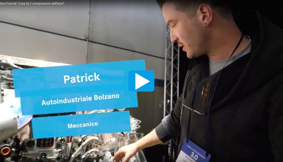 BusTutorial Patrick Autoindustriale Compressore aria