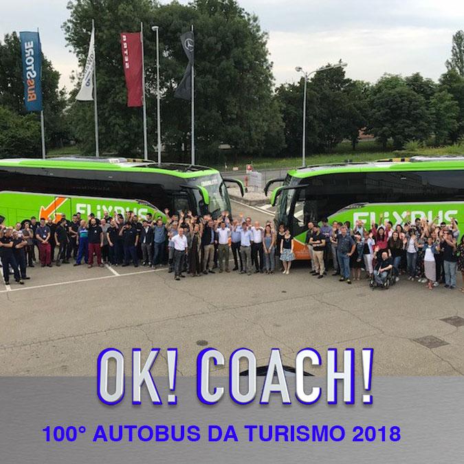 Consegna Setra 2018 crognaletti 100° autobus da turismo