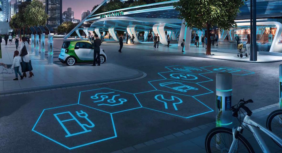 Elettromobilità Mercedes-Benz