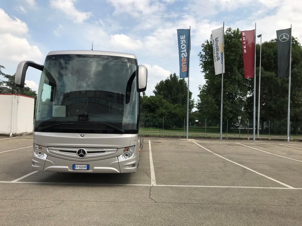 Consegna Tourismo Mercedes-Benz 2018 a Walter Bus