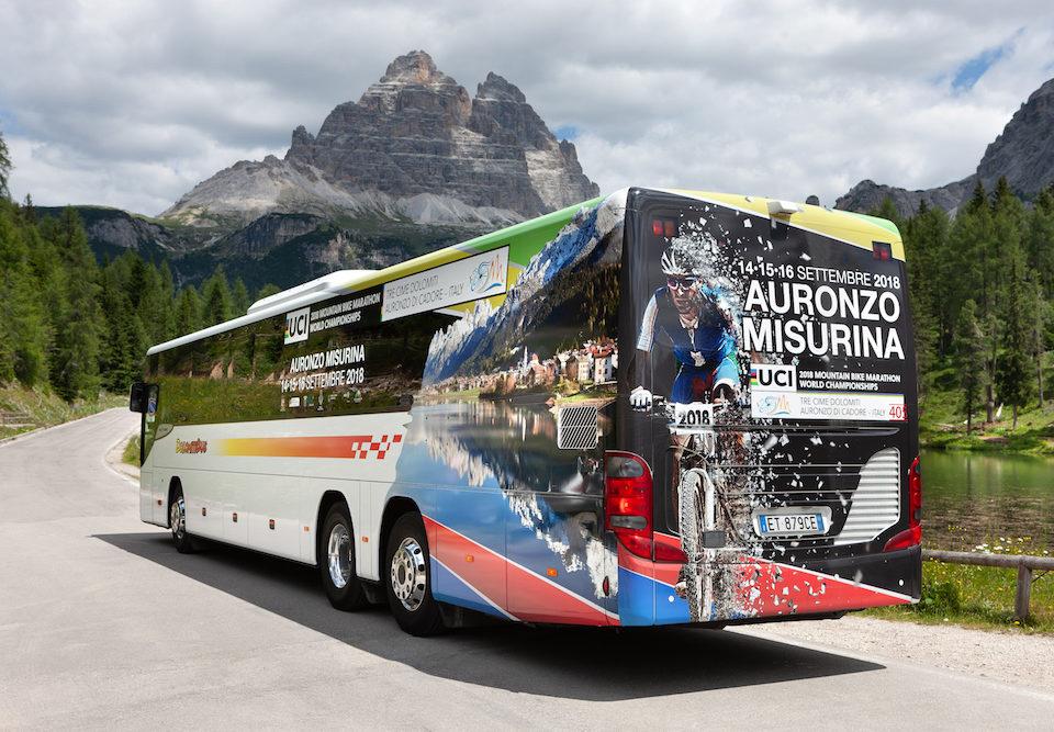 Setra Dolomiti Bus Mondiale Mountain Bike MArathon