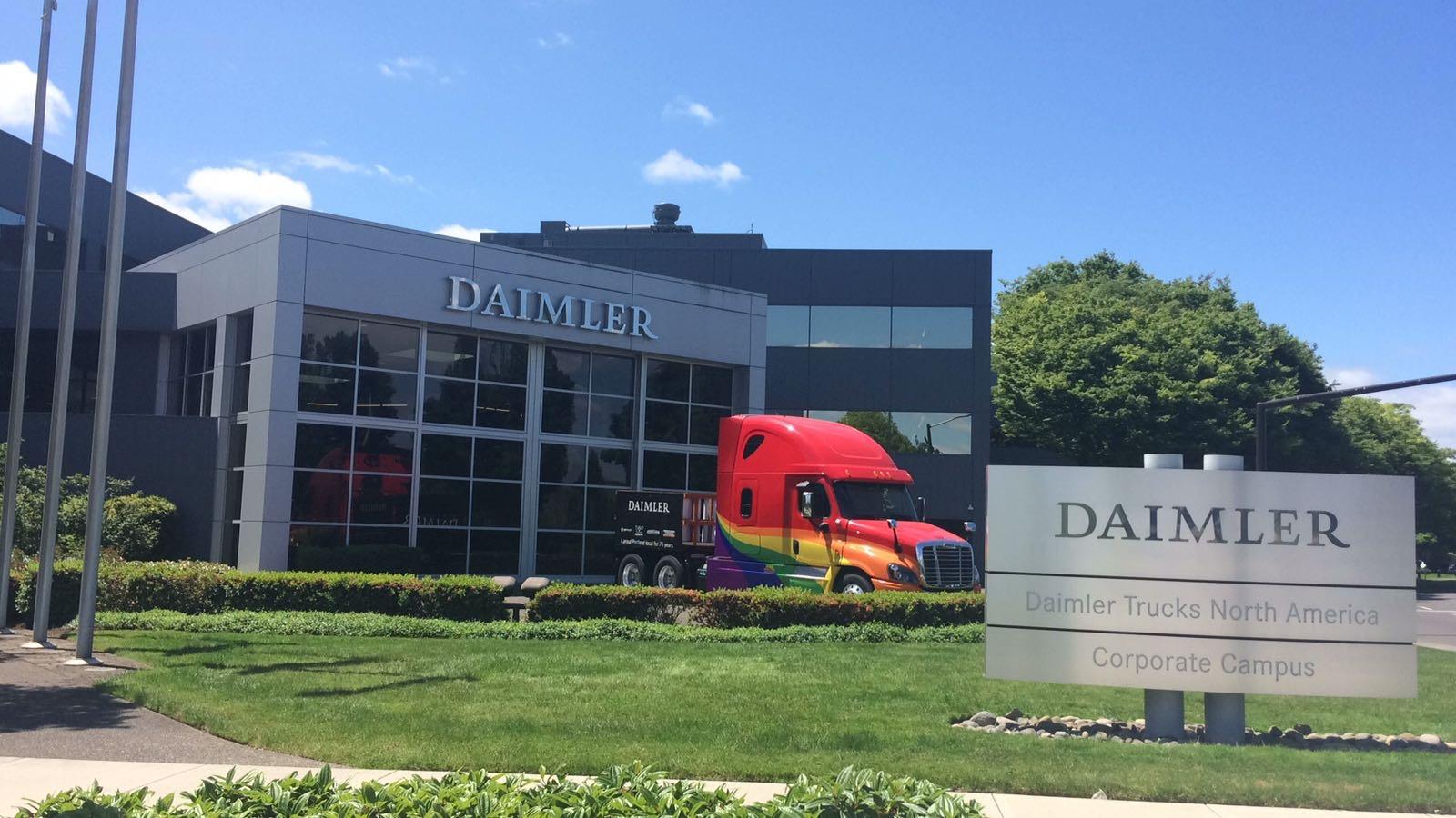 Daimler Tucks Nord america Sede
