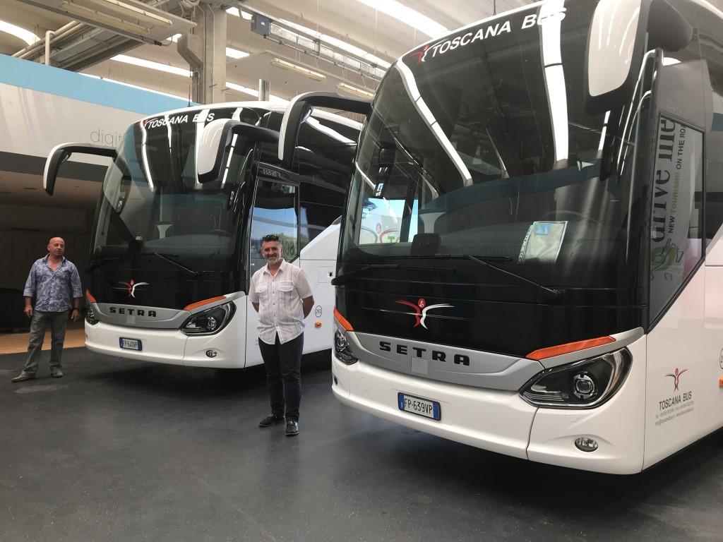 Consegna Setra 2018 a Toscana Bus