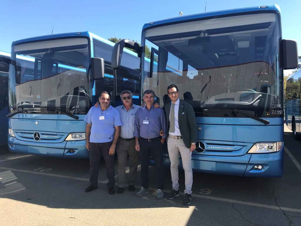 Consegna 2018 a Autolinee Federico e Mediterranea bus
