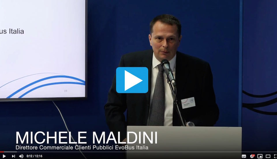 Video intervento Michele Maldini EvoBus Conferenza Stampa IBE 2018