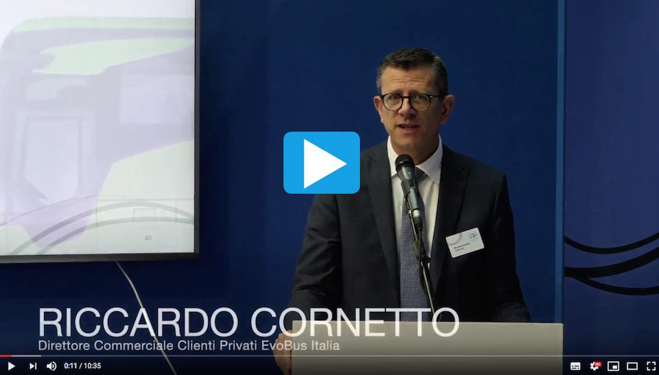 Video Intervento Riccardo Cornetto EvoBus Conferenza Stampa IBE 2018