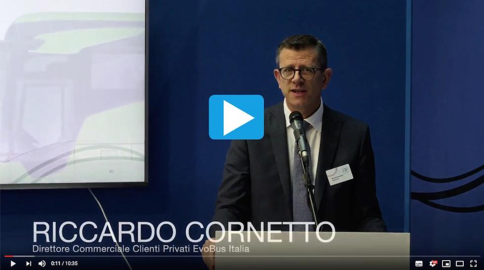 Video Intervento Riccardo Cornetto EvoBus Conferenza Stampa IBE 2018