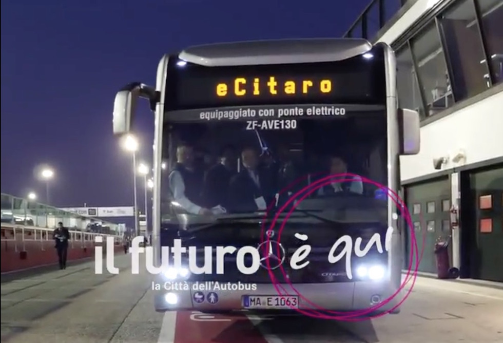 Interviste eCitaro IBE 2018 La Città dell'autobus by Night