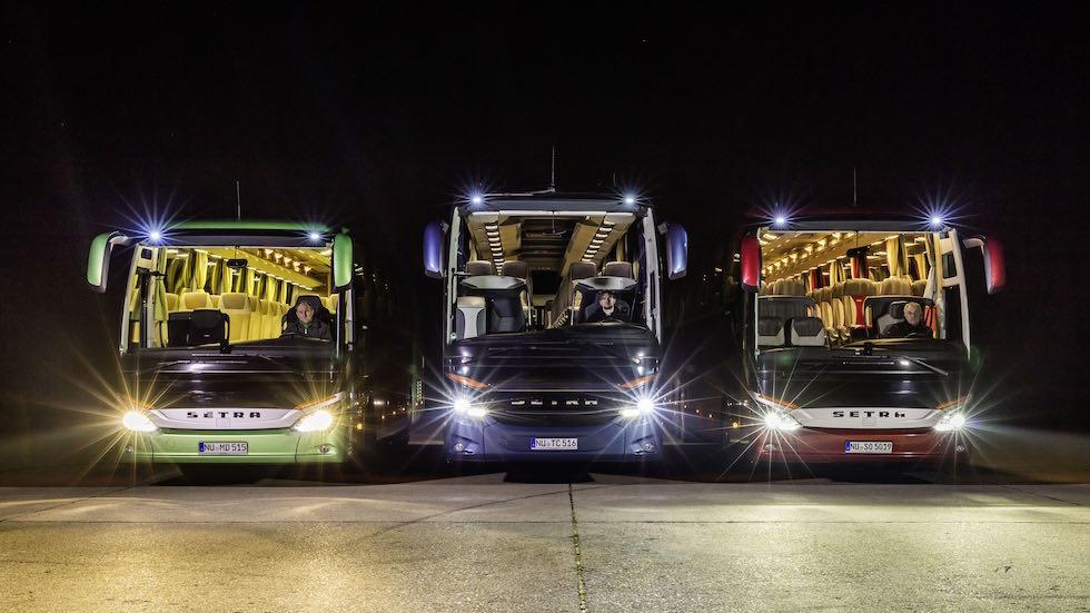 Fari LED Daimler Buses