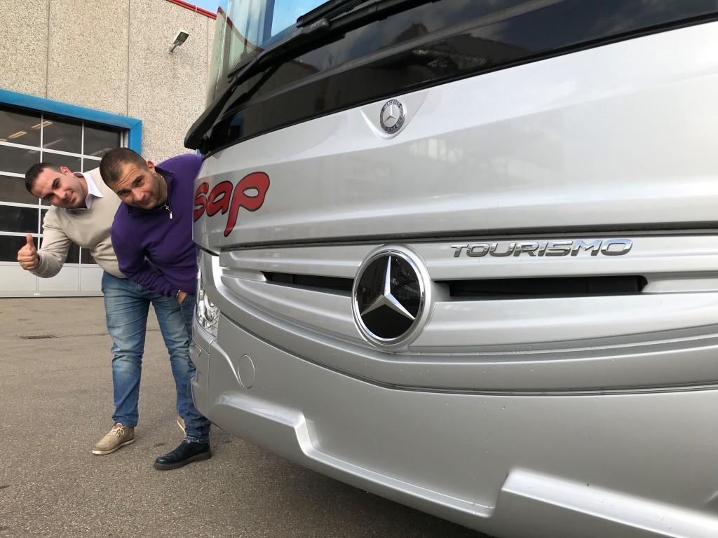 Consegna Mercedes 2018 a SAP Pizzo
