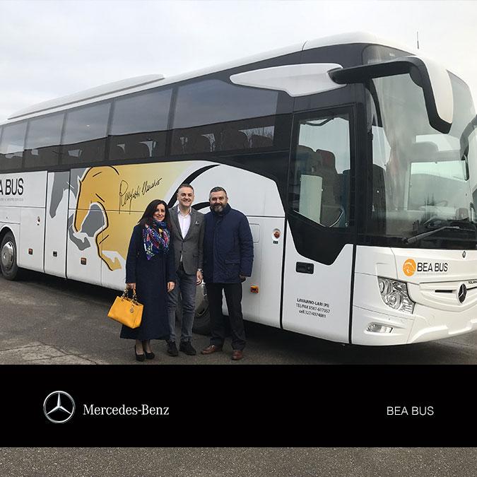 Consegna Mercedes 2018 a Bea Bus