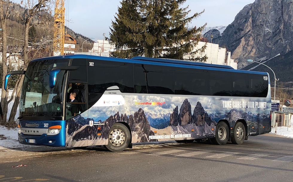 DolomitiBus Take Care of our Planet