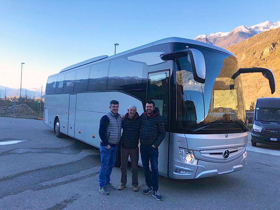 Consegna Mercedes 2018 Gavazzi