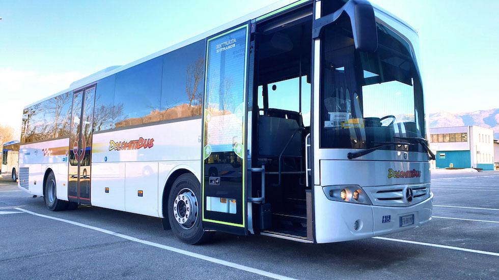 Mercedes-Benz Intouro con cambio Voith consegna 2019 a Dolomiti Bus