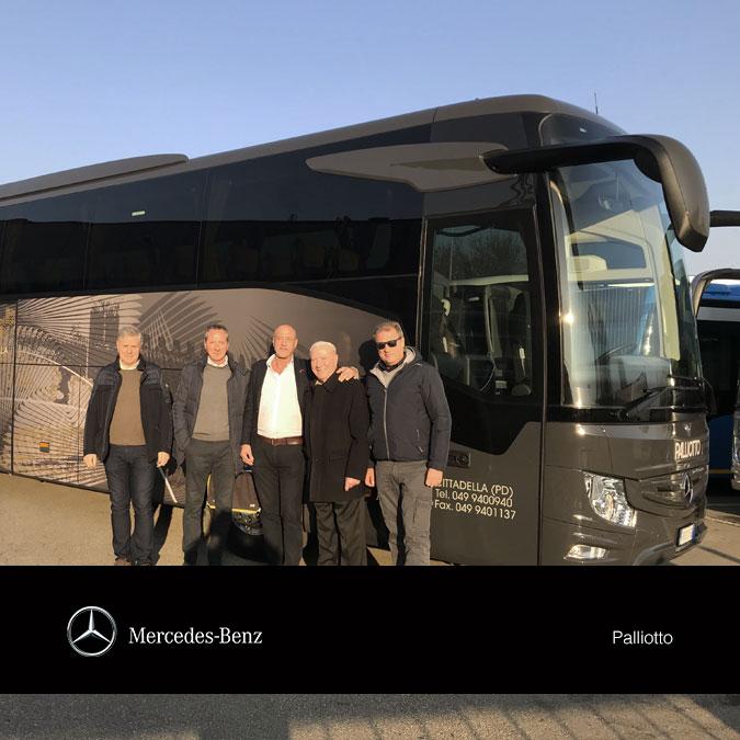 Consegna Mercedes 2018 Palliotto