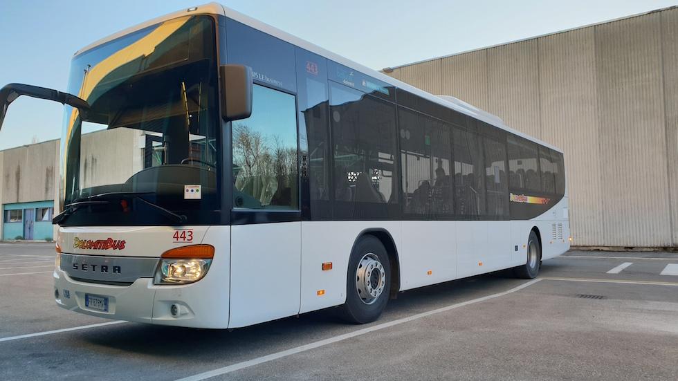 Setra con cambio Voith consegna 2019 a Dolomiti Bus