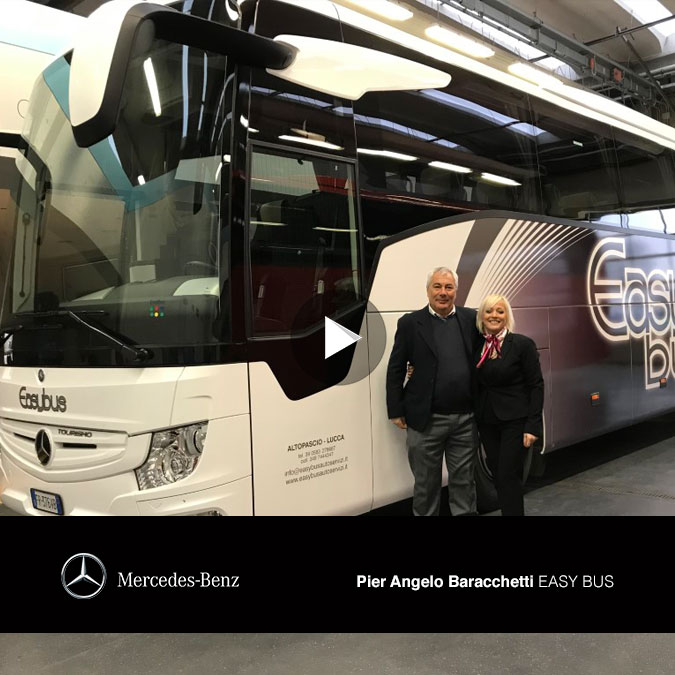 Consegna Mercedes-Benz 2019 a Easy Bus