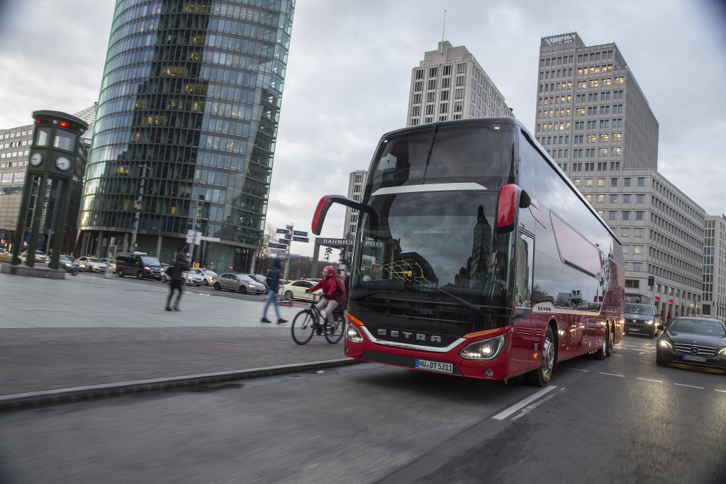 Test Drive Northeast Europe Setra s 531 DT marzo 2019