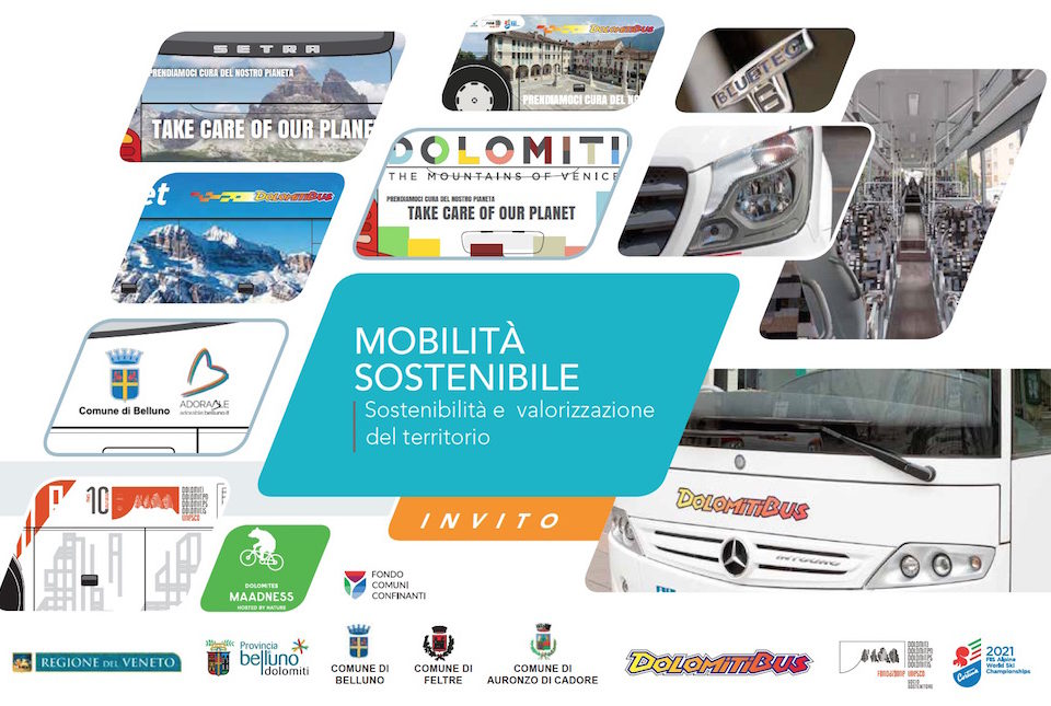 Dolomiti Bus Take Care Of our Planet Belluno