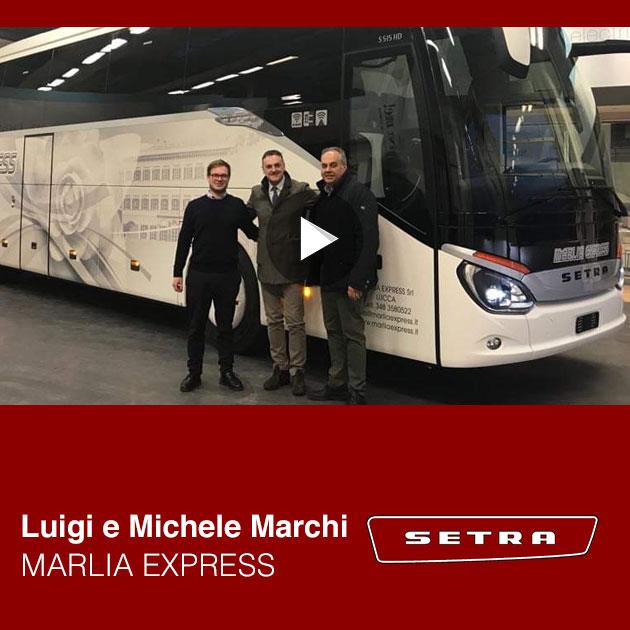 Consegna Setra 2019 Marlia Express