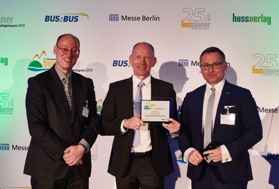 tripla vittoria per Daimler Buses