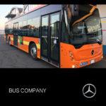 Consegna 2019 Mercedes Benz a Bus Company con cambio Voith
