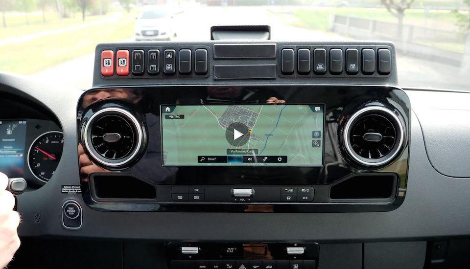 Spirnter City 75 Mercedes Benz comfort conducente video Marina Venturini