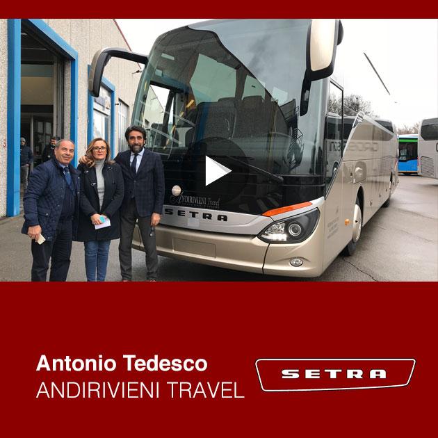 Consegna Setra 2019 a Andirivieni Travel