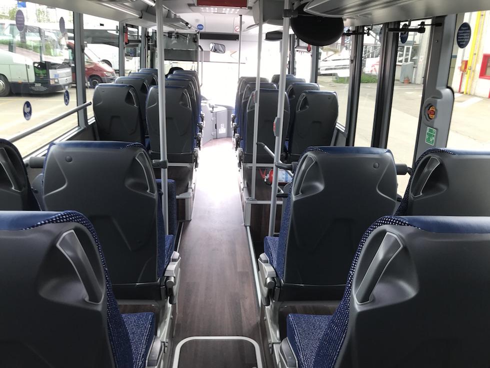CTT Nord consegna Setra 2019 bus interno