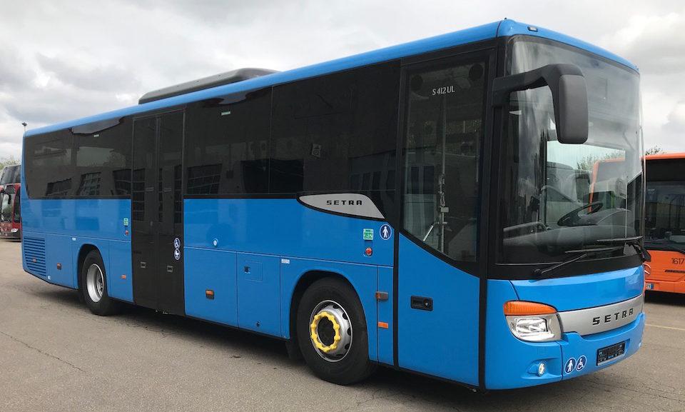 Consegna 2019 di 19 Setra a Ctt Nord