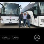Consegna Mercedes Benz Tourismo a Cefalu' Tours