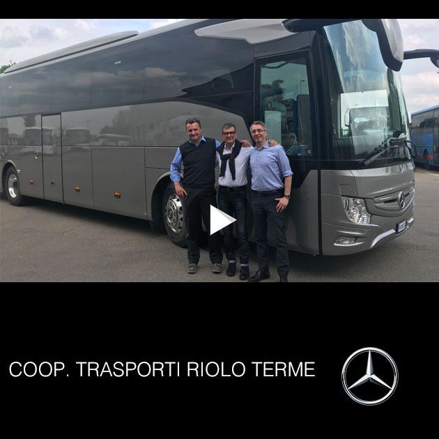 Consegna Mercedes 2019 a Coperativa Trasporti Riolo Terme