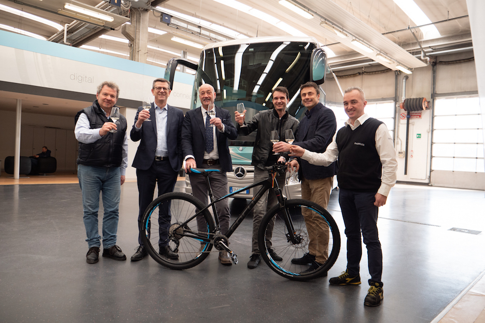 Walter Marini vince Eco Champ 2018 con Mercedes-Benz Tourismo